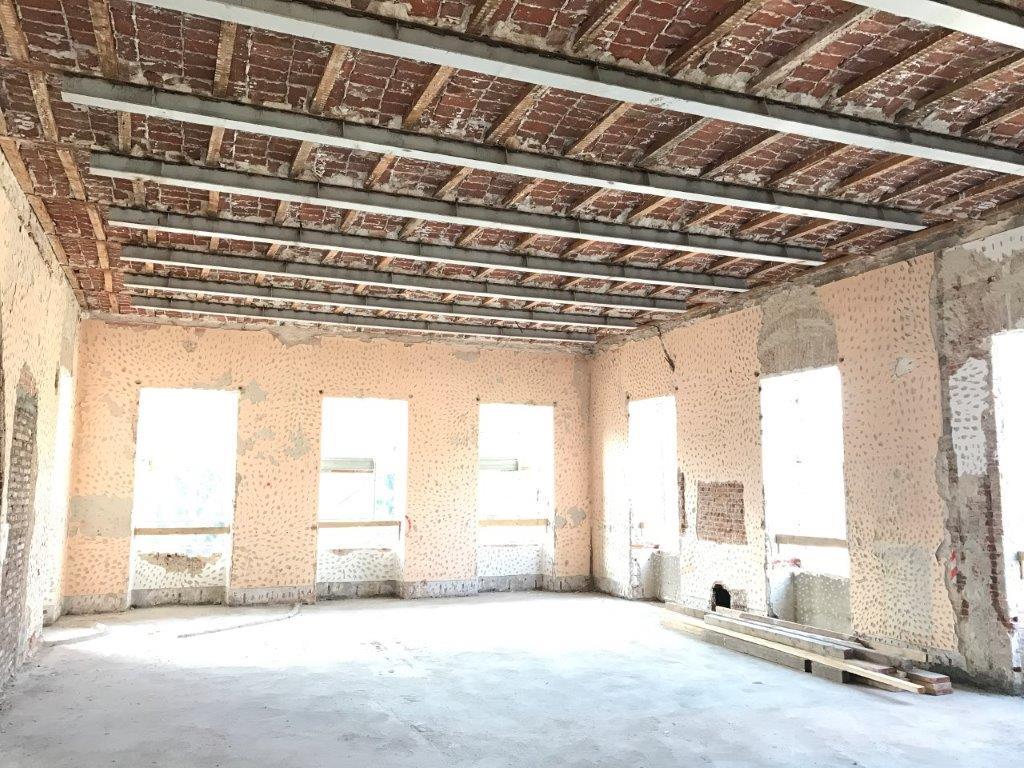 Sostituzione Travi In Legno Solai edificio storico a torino
